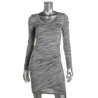 Splendid Womens Knit Printed Party Dress - S
