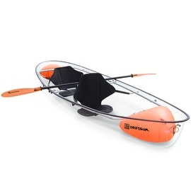 Driftsun Crystal Clear Transparent 2 Person Kayak - Clear Bottom Kayak