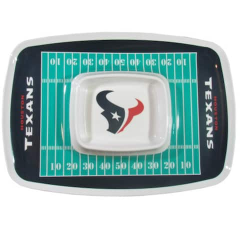 Siskiyou Sports Houston Texans Chip And Dip Tray Chip and Dip Tray
