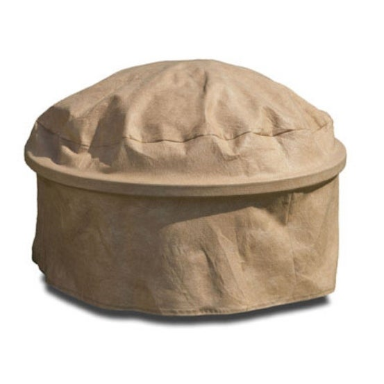 "Budge P9A27SFR1 Fire Pit Cover, 28"", Beige"