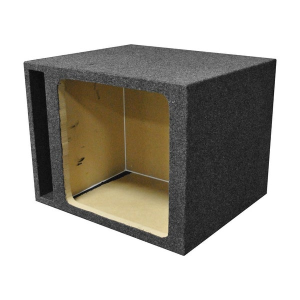 "Qpower Single Square 15"" Vented Woofer Box"