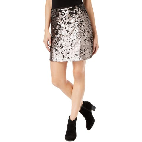 1.State Womens Mini Skirt Sequined Mini