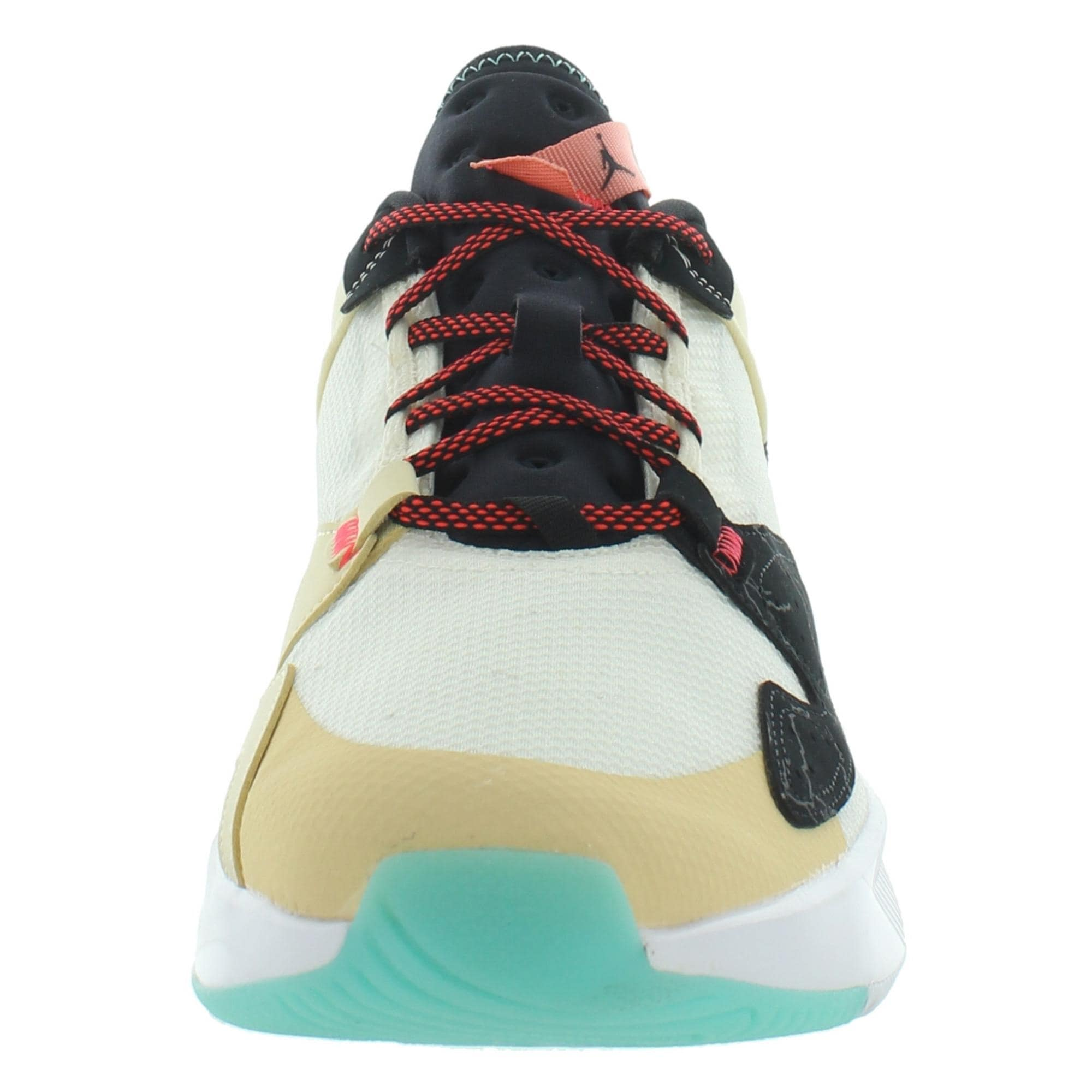 Nike Mens Jordan Air Cadence SNC Running Shoes Workout Gym - Pale Ivory/Black