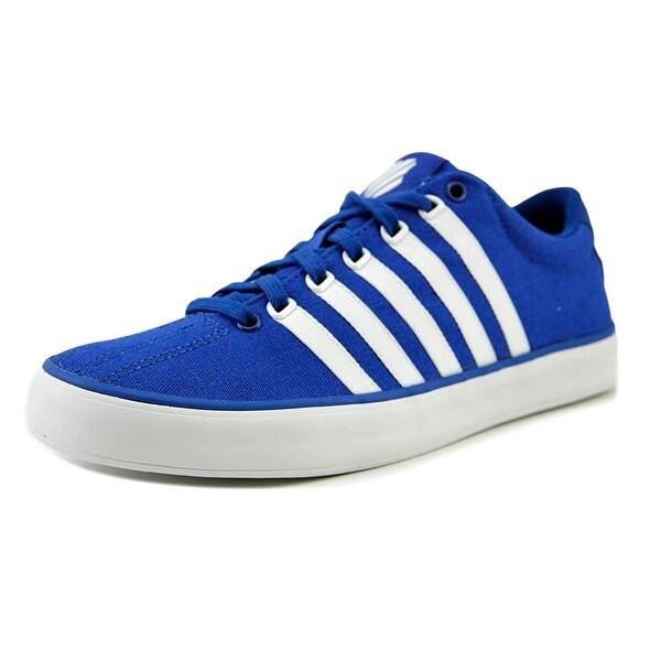 K-Swiss Court Pro Vulc Men Round Toe Canvas Blue Sneakers