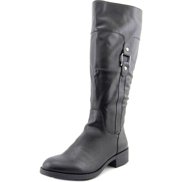 Style & Co Astarie Round Toe Synthetic Knee High Boot