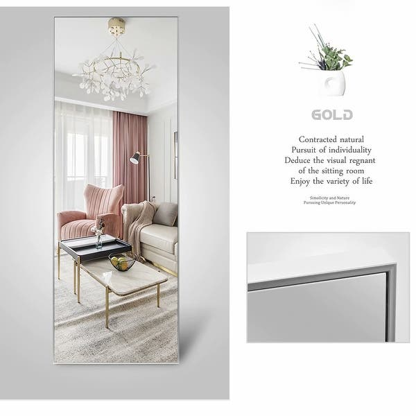 Large Full Length Floor Mirror With