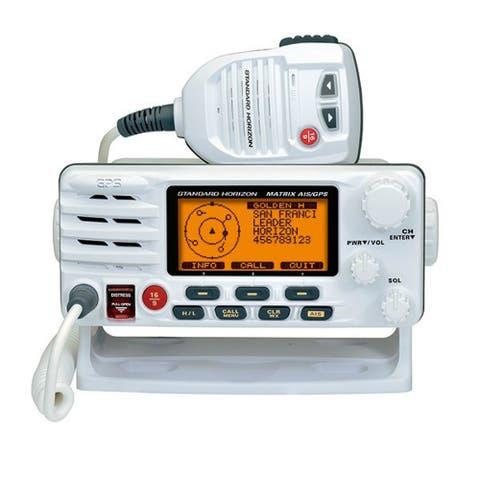 Standard Horizon GX2200 Matrix VHF Radio - White Marine Tranceiver with Integrated AIS & GPS