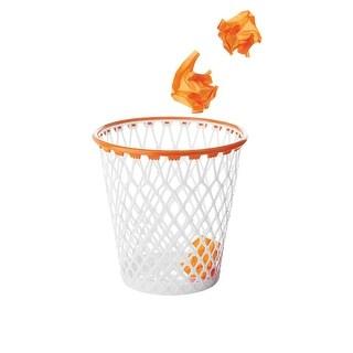 """Hoopster Waste Basket - Basketball Hoop Trash Can - 12.25"""" Diameter"""