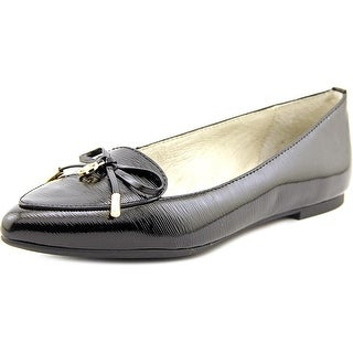 Michael Michael Kors Nancy Flat Pointed Toe Patent Leather Flats