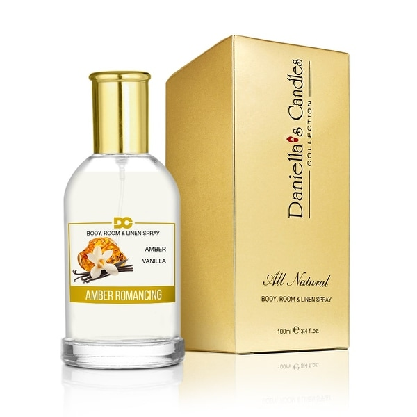Amber Romancing - Room, Body & Linen Spray by Daniella's Candles