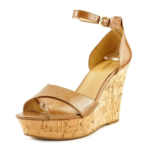 Nine West Jazmino Women  Open Toe Synthetic  Wedge Heel