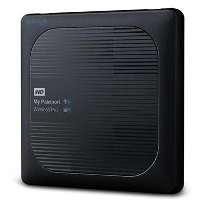 Wd Wdbsmt0040bbk-Nesn 4Tb My Passport Wireless Pro Portable External Hard Drive