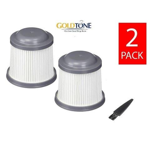 (2) GoldTone Replacement Vacuum Filter Fits Black & Decker Pivot PVF110, PHV1210, PV1020L, PD11420L, PHV1810