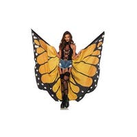 Festival Monarch Butterfly Wing Cape - One Size Fits most