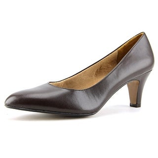 Life Stride Sable Womens Rich Brown Pumps