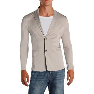 Theory Mens Zylan Two-Button Blazer Long Sleeves Stretch - 36