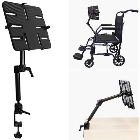 Mount-It! Tablet Pole Mount Wheelchair Tablet Mount for iPad, Tablet or Phone