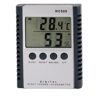 Indoor Outdoor Temperature Humidity Digital Meter Thermometer