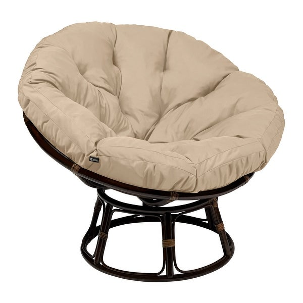 Classic Accessories Montlake Water-Resistant 50 Inch Papasan Cushion (Chair is not included). Opens flyout.