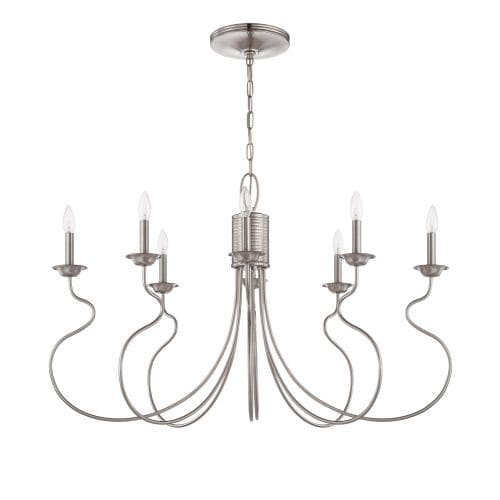 Jeremiah Lighting 36278 Clarion 8 Light Large Indoor Pendant - 40.75 Inches Wide