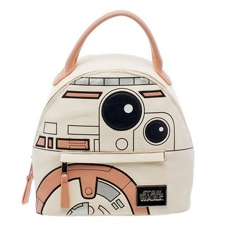 Offical Bioworld Star Wars Pastel BB8 Mini Backpack Handbag Satchel NWT