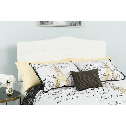 Lancaster Home Contemporary Upholstered Headboard