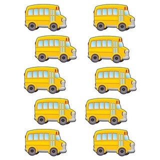 School Bus Accents 30 Pc