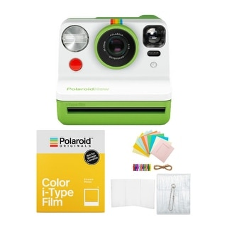 Link to Polaroid Originals Now Viewfinder i-Type Instant Camera (Green) Bundle Similar Items in Film Cameras