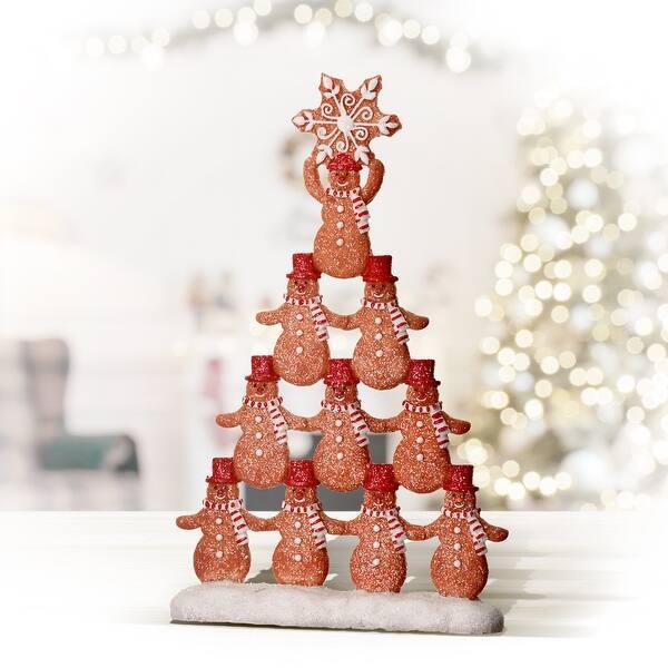 6 Resin Gingerbread Family Overstock 32428301