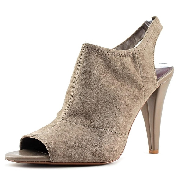 BCBGeneration Remmy Pump Women Open-Toe Suede Brown Heels