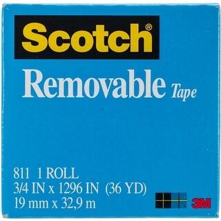 "Scotch (R) Removable Tape .75""X36yd-"