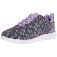 Propét Womens TravelFit Low Top Bungee Walking Shoes