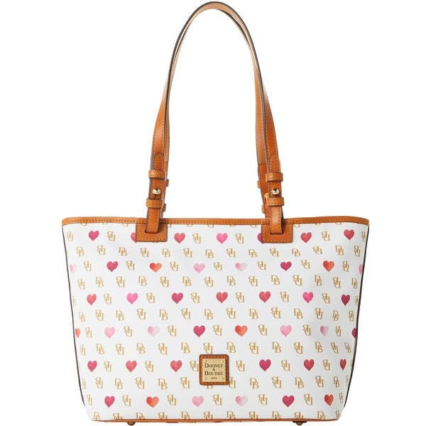 Dooney /& Bourke Gretta Hearts Small Leisure Shopper Tote