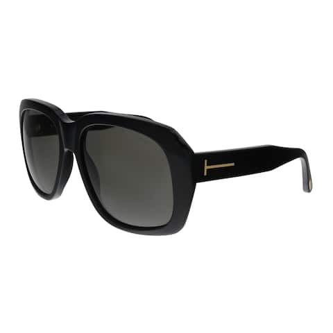 92ac7c21a3d7e Tom Ford FT0635 01A Andre-02 Black Square Sunglasses - No Size