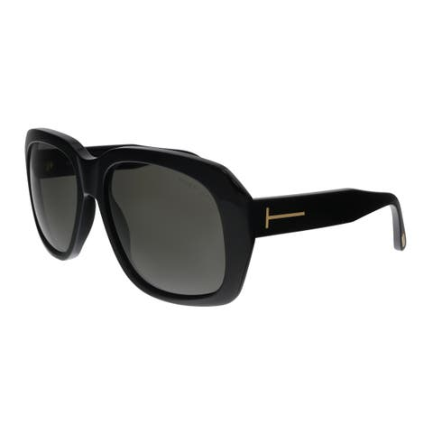 fce351df903ea Tom Ford FT0635 01A Andre-02 Black Square Sunglasses - No Size