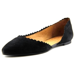 Jack Rogers Chantel Round Toe Suede Flats