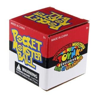 Pocket Monster Pokeball Stress Toy - multi
