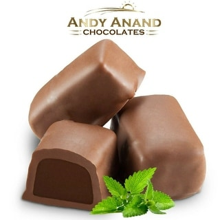 Andy Anand Sugar Free Milk Chocolate Mint Meltaways 1 lbs
