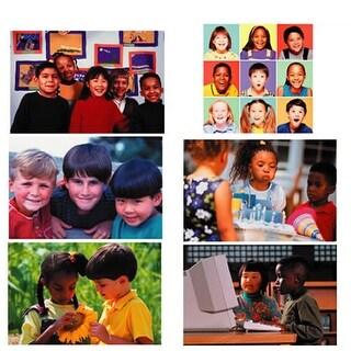 Melissa & Doug Diversity Puzzle Set of 6