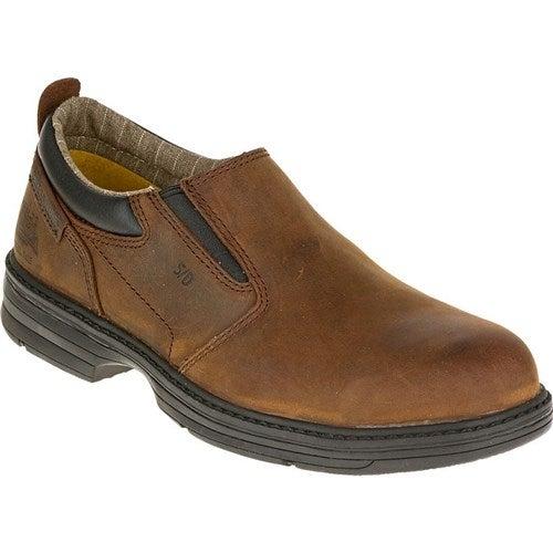 CAT Footwear Conclude Steel Toe - Dark Brown 8.5(M) Work Shoe