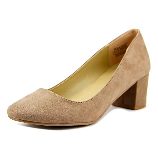 f08a3f18b5eb Shop Wanted Amelia Women Round Toe Suede Tan Heels - Free Shipping On Orders  Over  45 - Overstock - 17838274