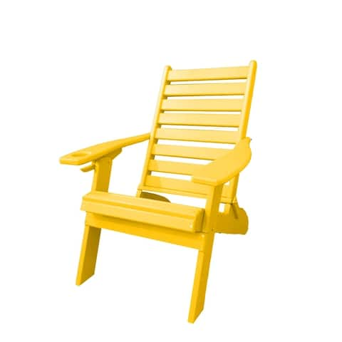 Ladderback Folding Adirondack Chair - Farmhouse Collection