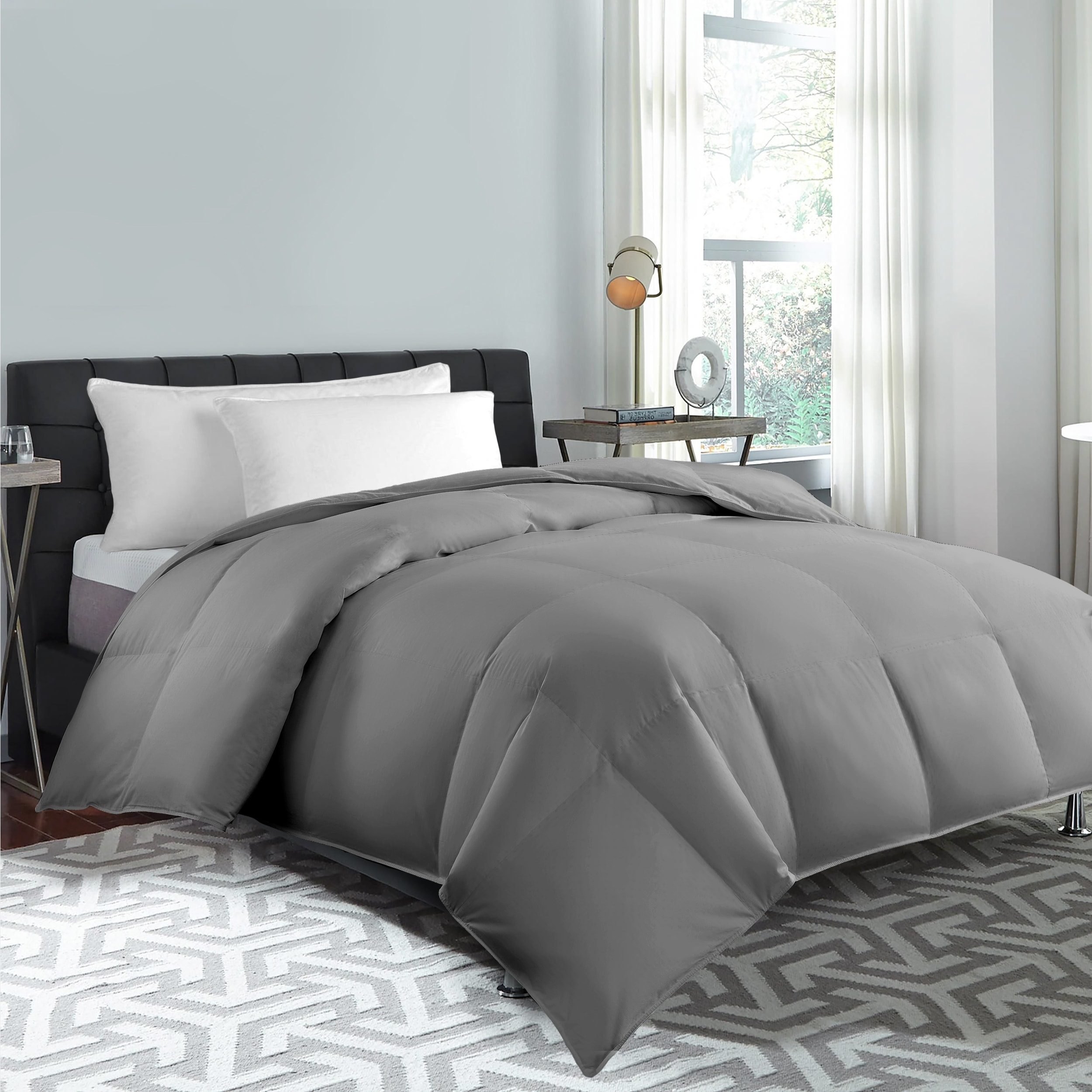 Hotel Grand Color Feather And Down Comforter Overstock 26887055