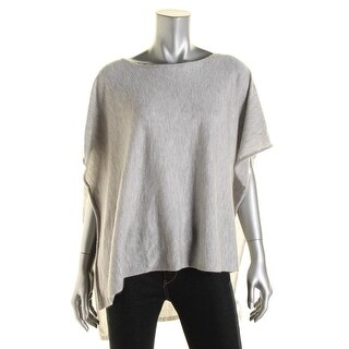 Eileen Fisher Womens Cashmere Beteau Poncho Sweater - o/s