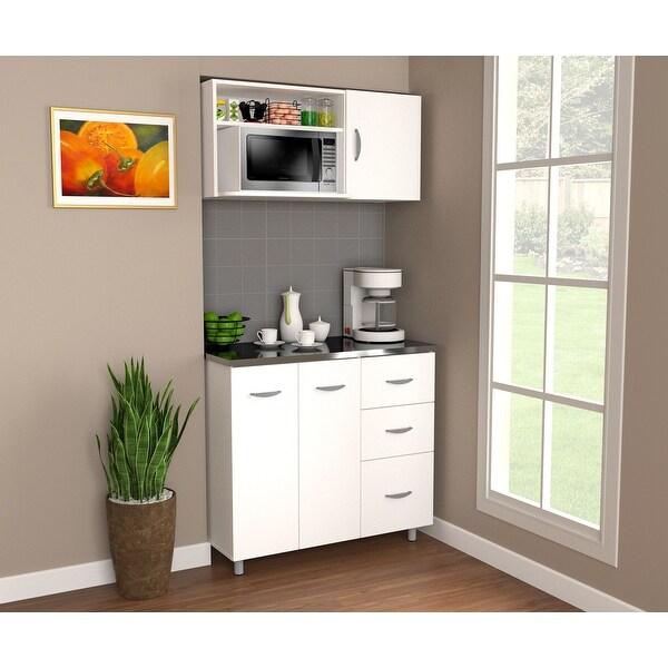 Shop Inval Kitchen Storage Cabinet System - Overstock ...