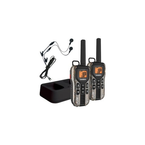 Uniden GMR4088-2CKHS Camo Two Way Radio with USB Charger & Headsets