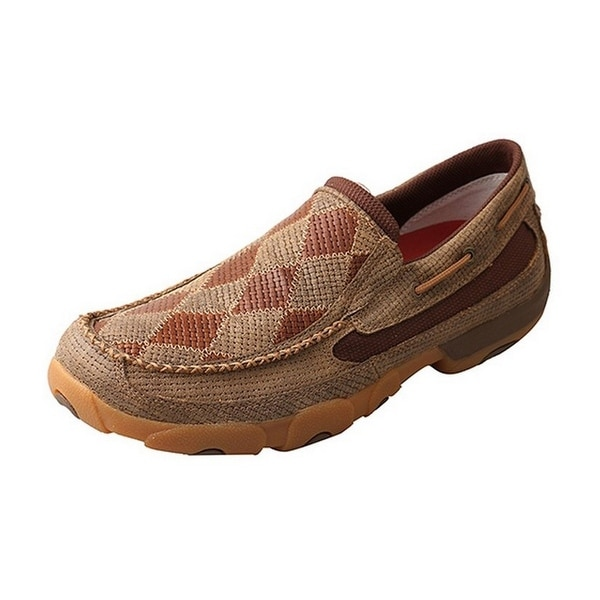 Twisted X Casual Shoes Mens Patchwork Slip On Rubber Bomber