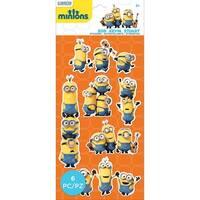 Minions Mini Flat Stickers-Minions Group