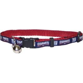 NFL New York Giants Cat Collar