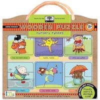 Nursery Rhymes Wooden 12 Piece Puzzle, Innovative Kids by Innovative Kids